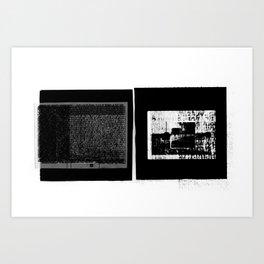 DUPLICITY / 01 Art Print