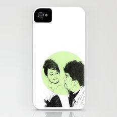 Pedro Almodovar and Penelope Cruz iPhone (4, 4s) Slim Case