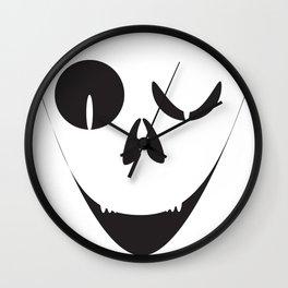 Evil Smile Wall Clock