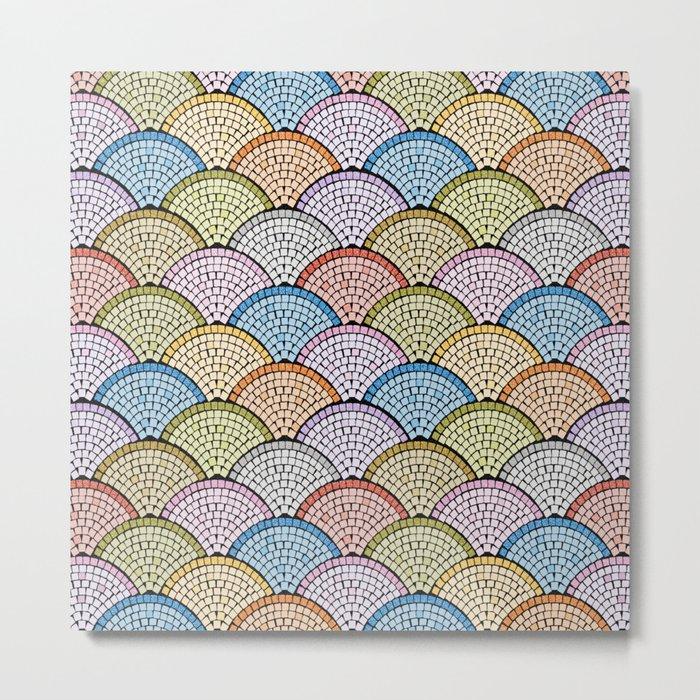 Mosaic Archs - Bright Night Metal Print