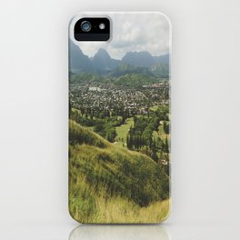 Kailua Landscape View iPhone Case