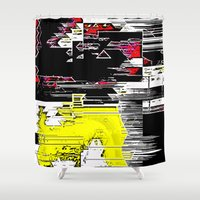 internet Shower Curtains featuring Internet Rash by tastypaper
