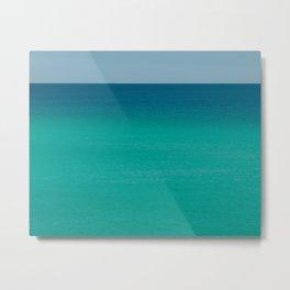Tropical Sea Metal Print