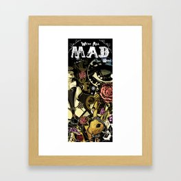 MAD ALICE: HATTER Framed Art Print