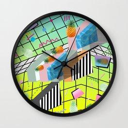 PINEAPPLE FACTORY 3D Wall Clock