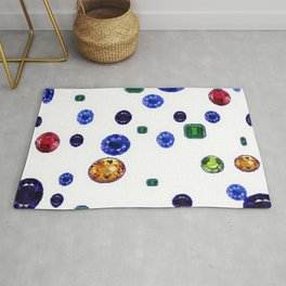 ASSORTED GEMS RAINING Rug
