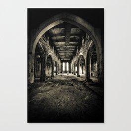 Abandoned Church Abercarn Canvas Print