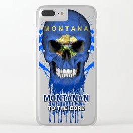 To The Core Collection: Montana Clear iPhone Case