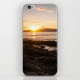 Summer Sunset Over Water Vancouver, British Columbia, Canada iPhone Skin