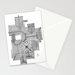 Taiwanese roofscapes 01 Stationery Cards