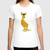 college T-shirts featuring College Kangaroo by ericbennettart