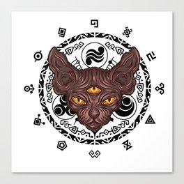 witchcraft furniture Design by diegoramonart Canvas Print