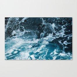 Tumultuous Seas Canvas Print