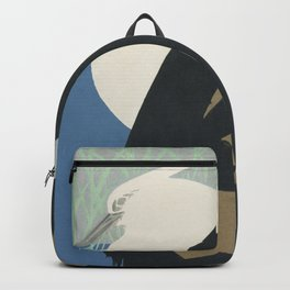 White heron Backpack