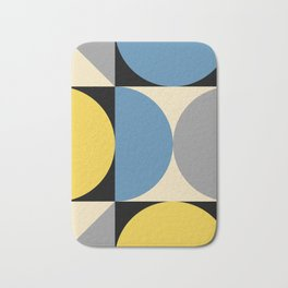 Mid Century Modern Geometric Abstract 240 Bath Mat