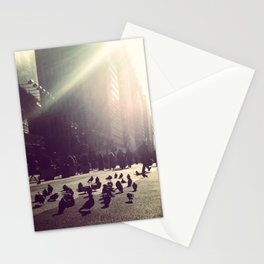 times square sun birds Stationery Cards