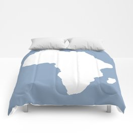 Rock Blue Audacious Africa Comforters