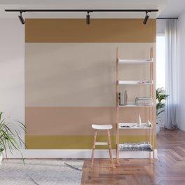 Contemporary Color Block X Wall Mural