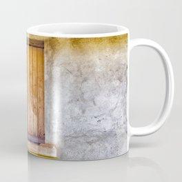 Old shuttered window Coffee Mug