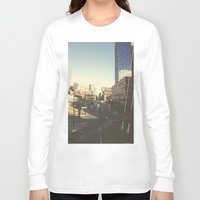 denver Long Sleeve T-shirts featuring Denver Dusk by danny_label