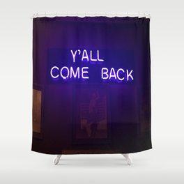 Now Ya Hear? Shower Curtain