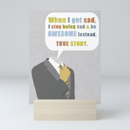 LEGEN____waitforit____DARY Mini Art Print