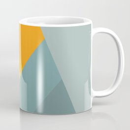 Abstract Mountain Sunrise Coffee Mug