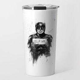 help me! Travel Mug