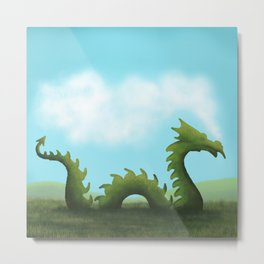 Dreams Of A Dragon Metal Print