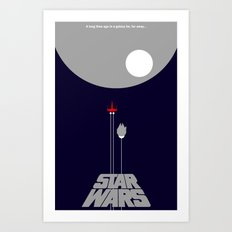 A New Hope II Art Print