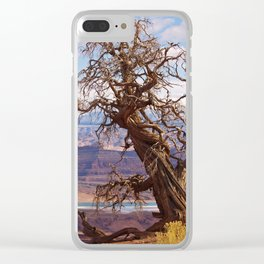 Twisted Juniper at Dead Horse Point Clear iPhone Case