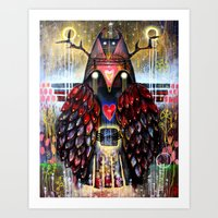 Dreaming Guardian Art Print
