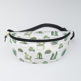 Watercolour Cacti & Succulents Fanny Pack