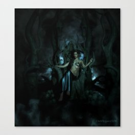 Goddess Lilith Canvas Print