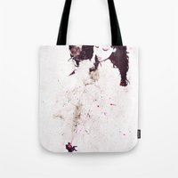 shining Tote Bags featuring Shining by  Maʁϟ