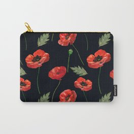 Beautiful poppies Carry-All Pouch