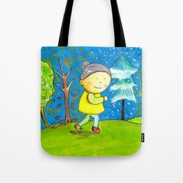 Run in every season of your life! Tote Bag