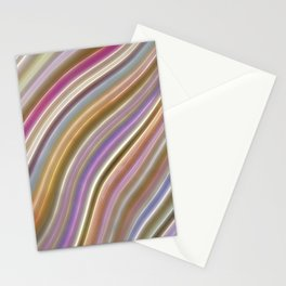 Wild Wavy Lines VI Stationery Cards