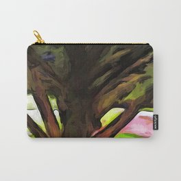 Avenue of Trees at the end of a Rainbow 1 Carry-All Pouch