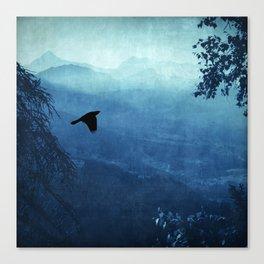 Blue Mountain Haze Canvas Print