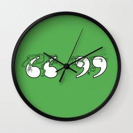 Smart Quotes Wall Clock