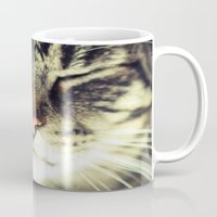 meow Mugs featuring Meow by BURNEDINTOMYHE∆RT♥
