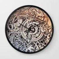 antique Wall Clocks featuring Antique by Irina Vinnik