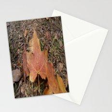 Fall leaf Stationery Cards