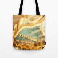 carnival Tote Bags featuring carnival by Carl Christensen
