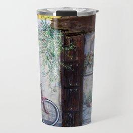 Wall Bike in Spain Travel Mug