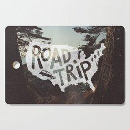 Road Trip USA - big sur Cutting Board