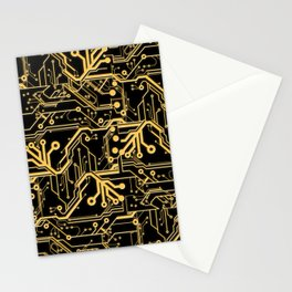 Techno Organic  Stationery Cards