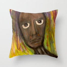 On Streets that Clean the Rain. Throw Pillow