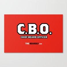 CHEIF BEARD OFFICER  Canvas Print